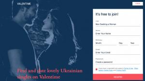 Valentime Registration