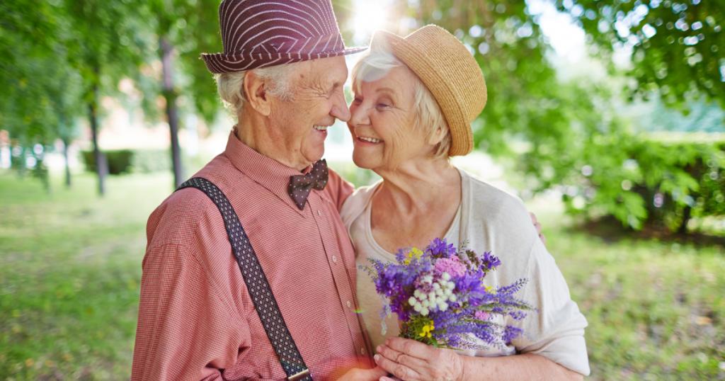 online dating service för seniorer