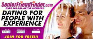 SeniorFriendFinder registration